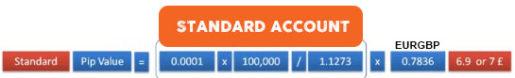 Standard Forex Account
